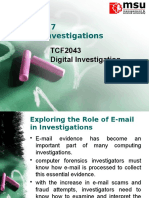 Chap 7 - E-mail Investigations