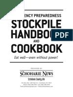 Emergency Stockpile Cookbook and Handbook