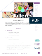 Convocatoria Talleres FeNaL 2017