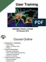 DTS User Training SLides
