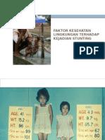 Faktor Kesling Dalam Pencegahan Stunting
