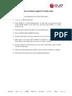 Calibration Procedure - Intelect Legend XT Combo Units-1