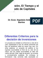 La Inversión, El Tiempo y El Mercado de Capitales SAB