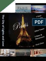paris travel poster - kaleigh