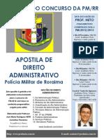 Apostila Administrativo (Policial Militar)