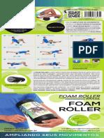 Manual e Embalagem Foam Roller Brasil