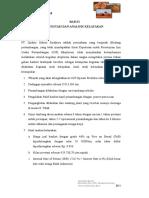 Bab 11 Kesimpulan Analisa Kelayakan