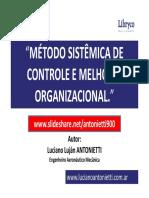 Metodo sistemica de controle e melhoria organizacional - Luciano Lujan ANTONIETTI.