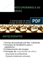 Movimento Operário e as Novas Idéias