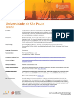 Description University of Sao Paulo
