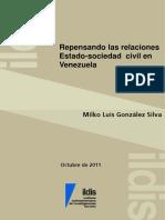 Repensando Las Relaciones Estado-Sociedad Civil