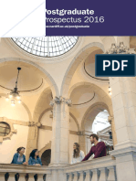 Cardiff University Postgraduate Prospectus