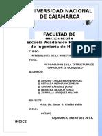Socavación en La Estructura de Captación El Ronquillo-metodologia de La Investigacion