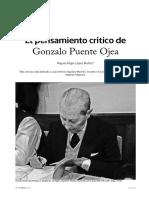 El Pensamiento Critico de Gonzalo Puente Ojea