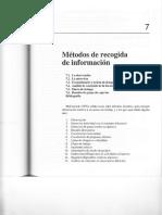 Fernandez Rios (1995) - Cap. 7 Metodos de Recogida de Informacion