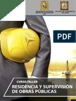 Brochure Curso Taller de Residencia y Supervisión de Obras Públicas Enero2017