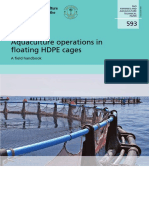 Aquaculture Ops in Floating HDPE Cages FAO