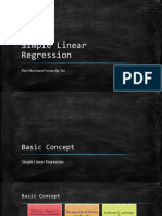 Kuliah 5, 6 - Simple Linear Regression