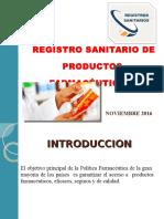 Registro-sanitario en Nic de Producto Farmaceutico- -Ppt