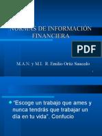 Nomar de Información Financiera 2016