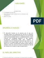 Desarrollo y Habilidades Directivas