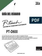 Ptd600 Uss Usr Laf427001b
