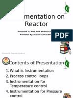 Instrumentation on Reactor