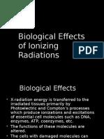 Biological Effects of Ionizing Radiation