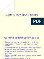 Gamma Ray Spectroscopy