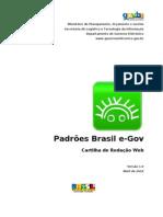 Padrões Brasil e-GOV - Cartilha de Redação Web