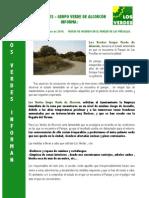 Los Verdes Informan PRESILLAS