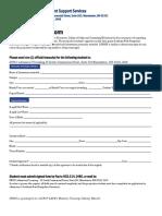Transcript Request Release Form