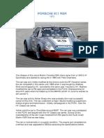 Porsche 911 RSR Specs