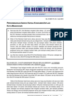 21. Inflasi Manokwari MEI 2010