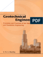 Geotechnical Engineering v n s Murthy