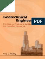 Geotechnical Engineering v n s Murthy
