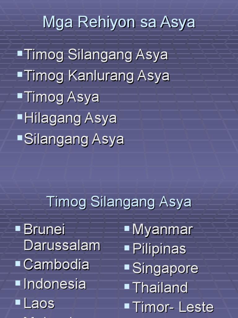 Lugar Asya Hookup Ng Pangalan Mga Sa chichi travelling