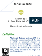 Mass Balance Lecture