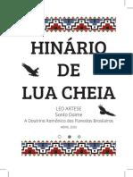 Hinario de Lua Cheia - Set 2016