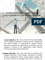 Effective Tools for Career Management and Development