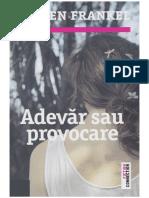 Lauren Frankel-Adevar Sau Provocare