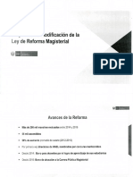 RESUMEN PROPUESTA DE MODIFICATORIA DE REFORMA MAGISTERIAL