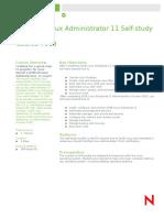 Certified Linux Administrator 11 Self-study Bundle Course Description_en (2)