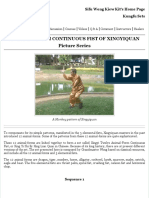 12-Animal Continuous Fist of Xingyiquan in Picture Series