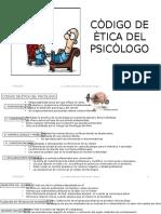 Còdigo de Ètica Del Psicòlogo