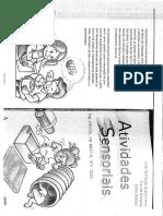 Livro Atividades Sensoriais