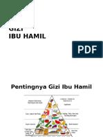 GIZI Hamil Ppt