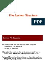 File System Standard