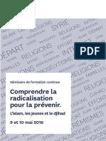 Comprendre La Radicalisation Pour La Prévenir