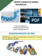 Aula 13 - Sequenciamento de DNA